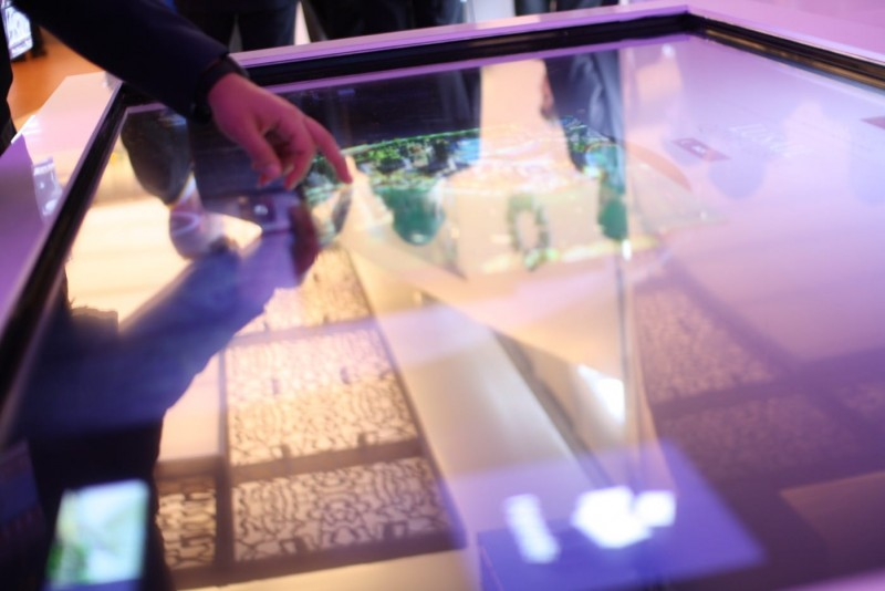 Qatari Diar | Tables Interactives by Artlinkz
