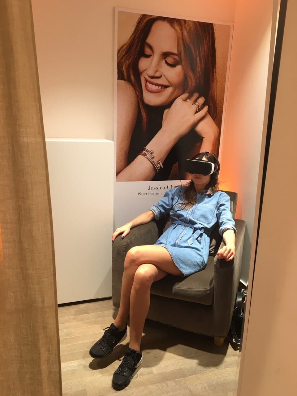 Virtual Reality | Lougne privé Radiance Possession - Piaget - Event by Arlinkz